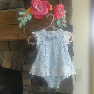 Infant summer dress with hat